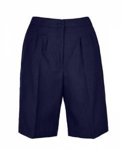 Ladies-Tailored-Shorts-Adjustable-Waist