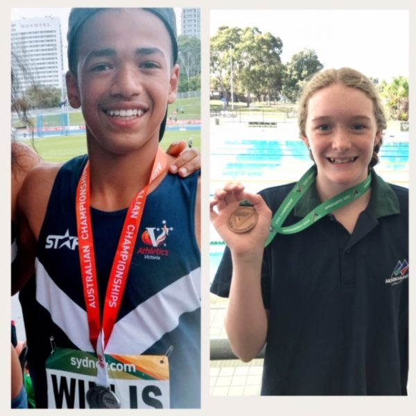Student sporting achievements