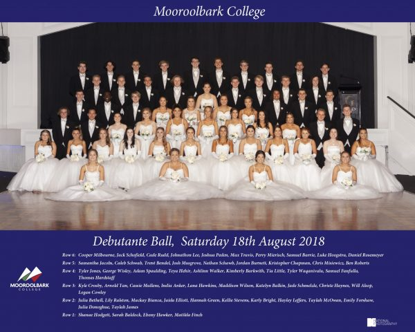 Year 11 Debutante Ball 2018