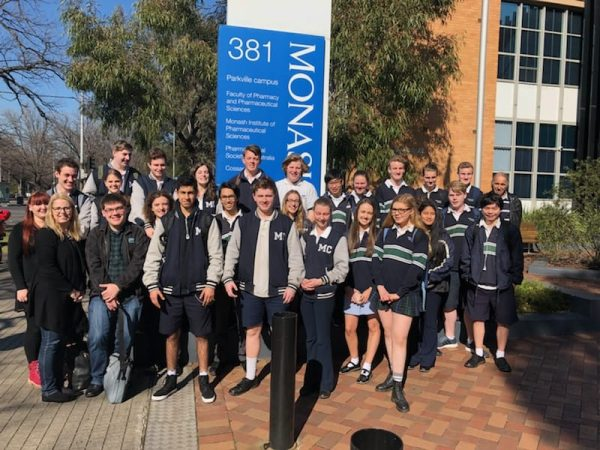 Monash Uni excursion
