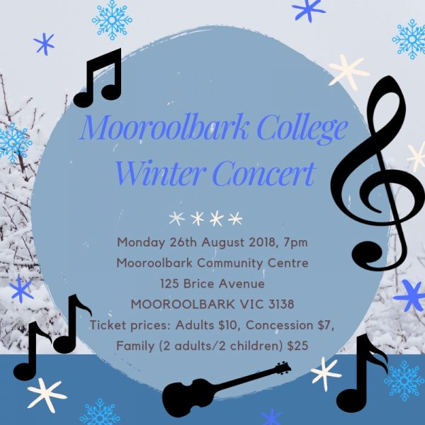Winter Concert 2019 -Save the date