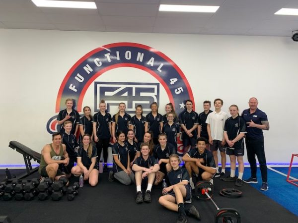 2019 Talented Sports Program F45 Training Session