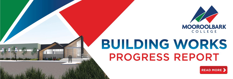 Building Works Progress Report