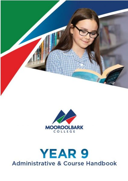 2021 Year 9 - Administrative & Course Handbook